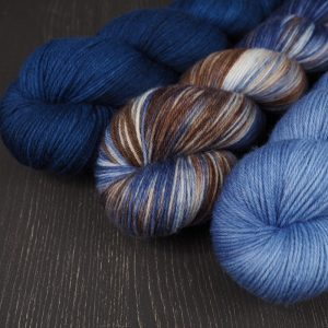Blog Shop Update Set Merino hand dyed yarn