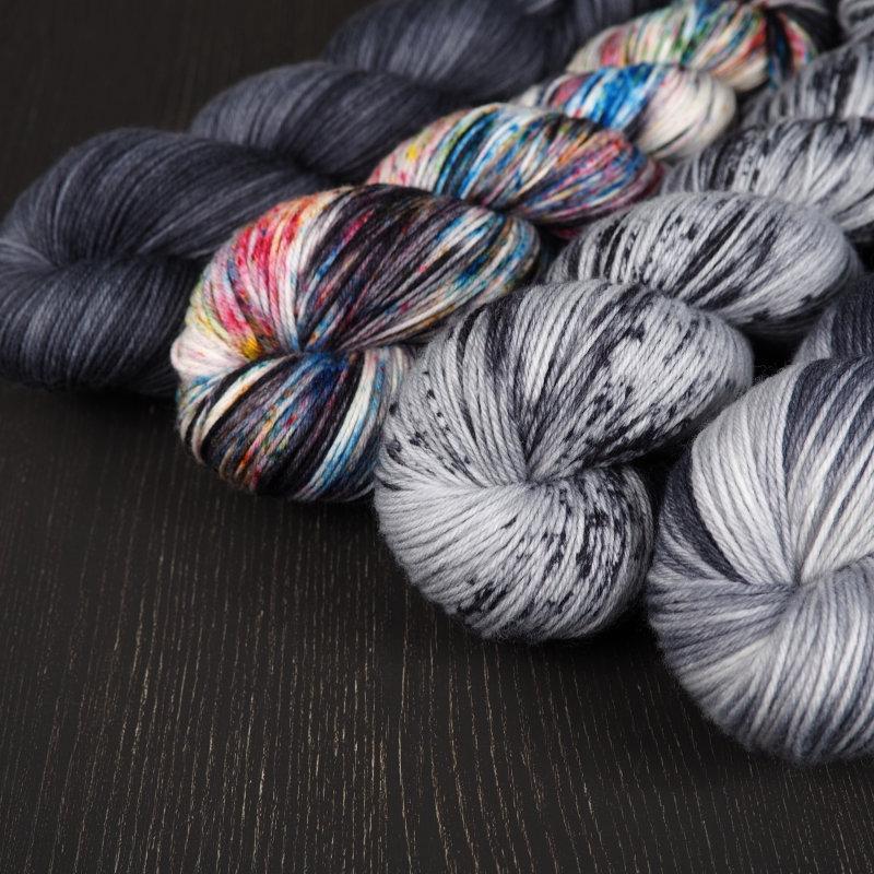 Blog Shop Update 15.04.2020 Set handgefärbte Wolle