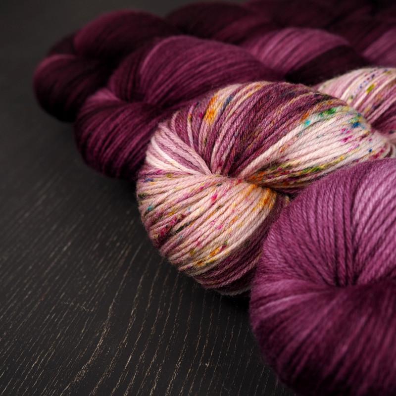 Blog Shop Update handgefärbte Wolle