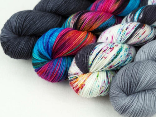 KreativSet Luxus HighTwist handgefärbt handdyed sock yarn