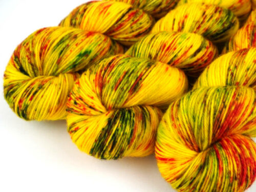 CrazyTulip Luxus HighTwist handgefärbt handdyed sock yarn
