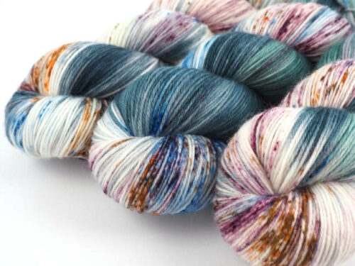 RainingMan Luxus HighTwist handgefärbt handdyed sock yarn