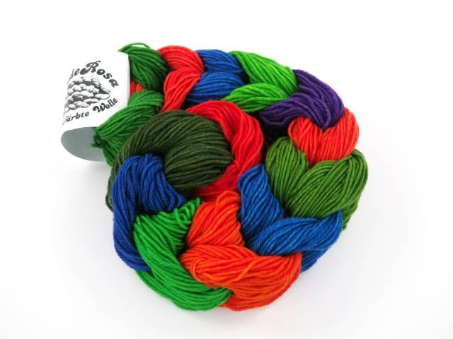MiniSet 213 Merino handgefärbte Wolle handdyed yarn